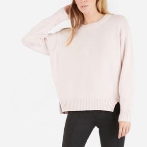 Everlane Blush Chunky Knit Sweater L